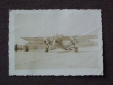 TRI MOTORED FORD PLANE AT FLOYD BENNET FIELD Vintage 1938 PHOTO