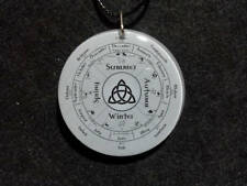 Pagan Wheel of the Year Pendant, Southern Hemisphere, Spiritual, Wicca, Paganism