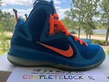 0368eabce004 Nike Lebron 9 IX CHINA Blue Orange 469764-800 Mens Sport Shoes Big Bang