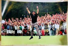PHIL MICKELSON SIGNED AUTOGRAPH HUGE 20X30 POSTER COA 2004 MASTERS LEAP PHOTO