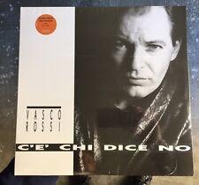 """VASCO ROSSI """"C'E' CHI DICE NO"""" LTD LP VINILE COLORATO SIGILLATO Fuori Catalogo!!"""