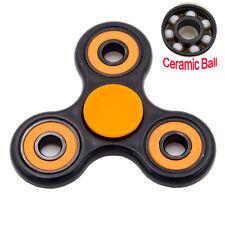 Hand Fidget Tri-Spinner Center Bearing Ceramic Ball Desk Toy Stress Relieve Toy