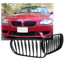 For BMW Z4 2003 2004 2005 2006 Front Kidney Grille Sport Grill Matt Black H00A