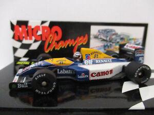 WILLIAMS RENAULT FW14B, #5, Nigel Mansell, 1992 World Champion, 1:64!!!