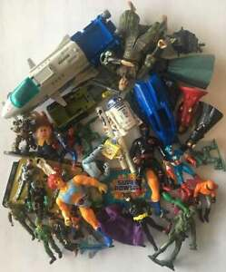 Marvel Super Powers Transformers Star Wars Figure 80s GI Joe Old Vintage Toy Lot