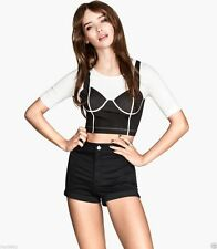 H&M Fitted Casual Regular Size Tops & Shirts for Women