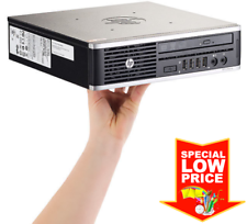 HP Elite Ultra Slim PC (Intel i5-3700S, 16GB RAM, 128GB SSD, DVDRW. WIFI, W10Pro