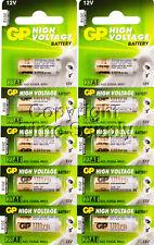 10 GP23AE GP 23A MN21 A23 V23GA VR22 12 VOLT Batteries Expire 2018