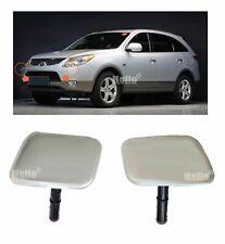 COVER H/LAMP Washer Nozzle Silver X2 For 2007- 2012 HYUNDAI VERACRUZ : ix55