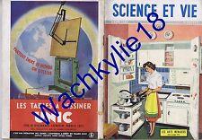 Science et vie n°378 du 03/1949 Arts ménagers Téleskis Les enfants sauvages
