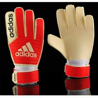 adidas Classic Training Goalkeeper Drill Football Soccer Sport Gloves Red CF0105