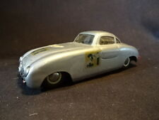 RARE Old Vtg DUX #21 Mercedes Tin Toy Car Silver Two-Door