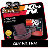 33-2337 K&N High Flow Air Filter fits SAAB 9-3 2.0 2003-2011
