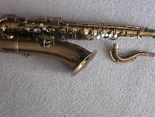 George M. Bundy tenor saxophone-elkhart,ind.,vintage ,beautiful,braced neck