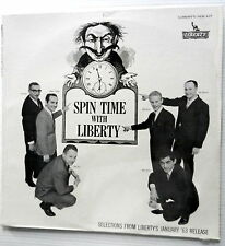 SPIN TIME with LIBERTY label VARIOUS ARTISTS promotional Lp SEALED 1963 POP