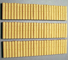 MULTISCALE PILING SEAWALL O On30 HO S Unpainted Cast Resin Scenery Detail FR1573