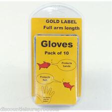 Pack de 10 bras pleine longueur pond gants gold label