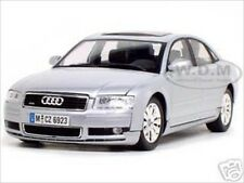 2004 AUDI A8 SILVER 1:18 DIECAST MODEL CAR BY MOTORMAX 73149