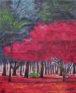 IMPRESSIONISM MODERN Original Fine Art PAINTING DAN BYL Contemporary Modern Huge
