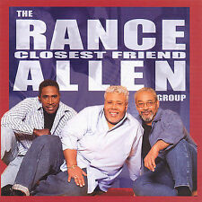 Closest Friend by Rance Allen (CD, May-2007, Tyscot)