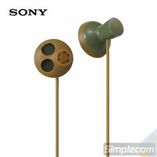 SONY MDR-PQ5 Headphones In Ear Earphone for Apple iPod iPhone MP3 Earbuds GREEN