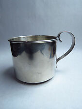"""Vintage Webster Sterling Silver Baby Cup 50 Grams 2"""" Tall"""