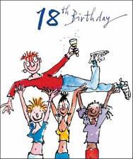 Quentin Blake 18th Cumpleaños Tarjetas de Felicitación Tarjeta popular variedad saludos