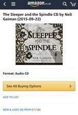 The Sleeper and the Spindle Audio CD by Neil Gaiman (CD-Audio, 2015) PLAYED ONCE