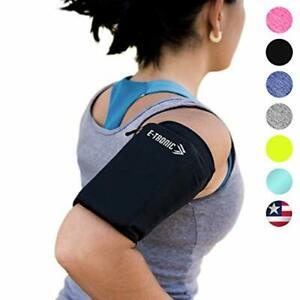 Phone Armband Sleeve: Best Running Sports Arm Band Strap Holder Large, Black