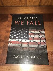2017 Divided We Fall By David Sonius Book Paperback Novel Signed Autographed
