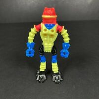 Arco Robot Zone Figure Bendy Toy Vintage 80s Retro Neon Space Sci-Fi Collectable