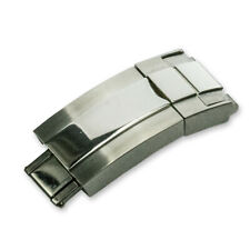 Stainless Steel Deployment Clasp Watch Strap For Rolex Watches 16mm x 9mm