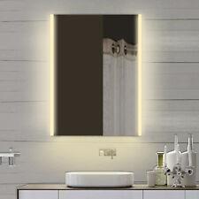 Design LED Badspiegel Badezimmerspiegel in warm & kaltweiß  60x82cm SPS60X82DP