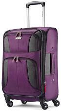 "Samsonite Luggage Aspire XLite 20"" Spinner Expandable Carry On Suitcase - Purple"