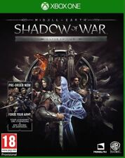 Middle-Earth: Shadow of War-Silver Edition (Xbox One) Neuf Et Scellé