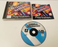 Missile Command - Sony PS1 PS2 PS3 PlayStation Video Game - Complete Black Label