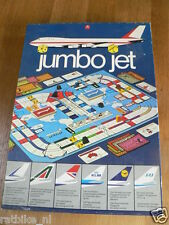 BOARDGAME JUMBO JET AIRLINE COMPANIES,KLM,SAS,LUFTHANSA,AIR FRANCE,BRITISH AIRWA