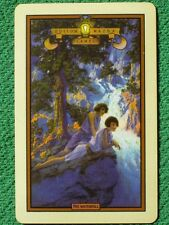 "Maxfield Parrish Edison Mazda Art ""Waterfall"" Vintage Original Circa 1931 Card !"