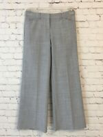Express Editor Womens Size 0 Gray Wide Leg Workwear High Waist Dress Pants