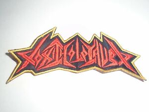 TOXIC HOLOCAUST THRASH METAL EMBROIDERED PATCH