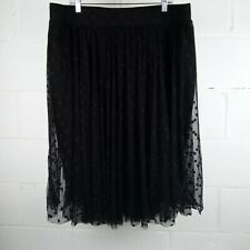 Torrid Polka Dot Skirt Women Plus Size 2 Black