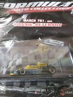 MARCH 761 RONNIE PETERSON 1976 FORMULA 1 AUTO C.  #160 1:43 MIB DIE-CAST