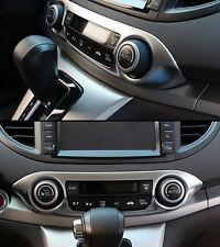 For Honda CRV CR-V 2012-2015 Chrome Interior Middle Console frame Cover Trim