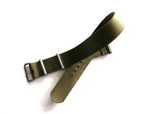 18-20-22-24 NATO G10 watch strap Premium Ballistic nylon RAF MoD Bond IW SUISSE