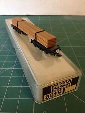 Märklin Z 8619 Vagón de madera Drehschemel Suciedad/arañazo/defectos