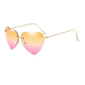 Herzförmige Sonnenbrille   Modern   Gemischte Farbe