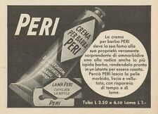 Z1056 Lama e Crema per Barba PERI - Pubblicità d'epoca - 1934 Old advertising