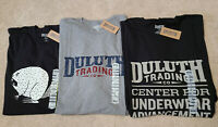 NWT Duluth Trading Company Men's Longtail 3 Graphic T-Shirt Lot Size XL XMAS