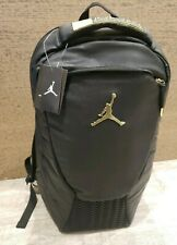 Nike Air Jordan Retro 12 XII 'THE MASTER' GOLD /Black Backpack Laptop Jumpman 23