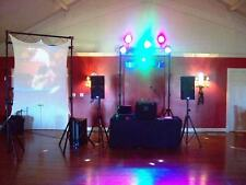 """PROJECTION SCREEN, DJ STRETCH SCREEN, 120"""" X 72"""" (10' X 6'), FRONT AND REAR, VJ"""